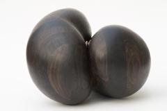 Bog oak and bronze50 cm x 50 cm x 35 cm