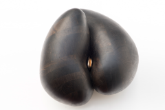 Bog oak and bronze 50 cm x 50 cm x 35